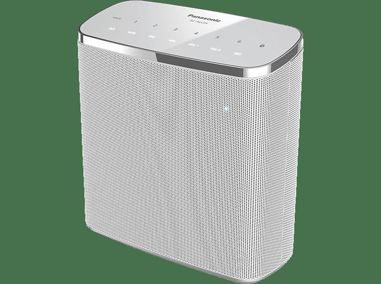 PANASONIC SC-ALL05 - Streaming Lautsprecher (App-steuerbar, Bluetooth, Weiß)