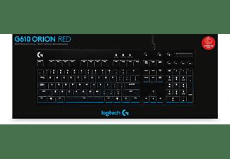 LOGITECH G610 Orion, Gaming-Tastatur, Mechanisch, Cherry MX Red