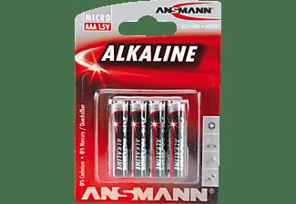 ANSMANN 5015553 AAA Micro Batterie, 1.5 Volt 4 Stück