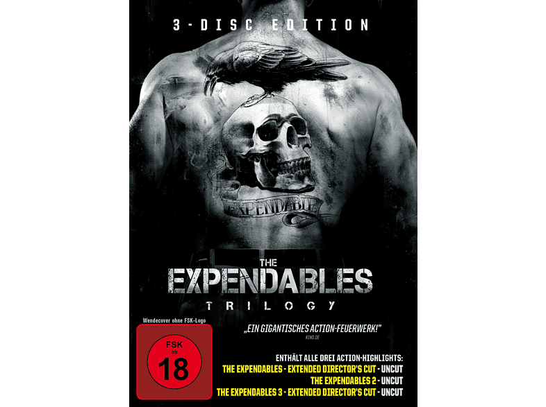 The Expendables Trilogy [DVD]
