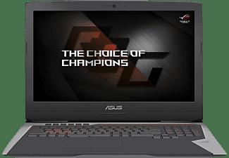 ASUS G752VS-BA185T, Notebook mit 17,3 Zoll Display, Core™ i7 Prozessor, 32 GB RAM, 512 GB SSD, 512 GB SSD, GeForce GTX 1070, Grau