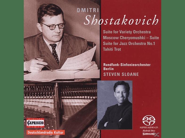 Steven Sloane - Jazzsuiten/Moscow Cheryomushki [SACD]