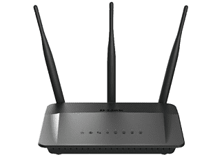Router inalámbrico - D-Link DIR-809 Dual band Fast Ethernet, 750 Mbps, 4 puertos 10/100, Negro