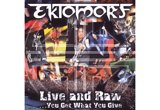 Ektomorf - Live And Raw-You Get What You Give - (CD + DVD Video)