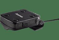 HAMA SM-17, Stereo-Mikrofon, Schwarz, passend für Camcorder, Systemkamera, Spiegelreflexkamera