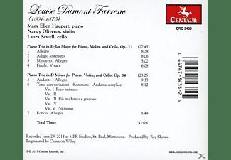 Haupert/Oliveros/Sewell - Klaviertrios  - (CD)