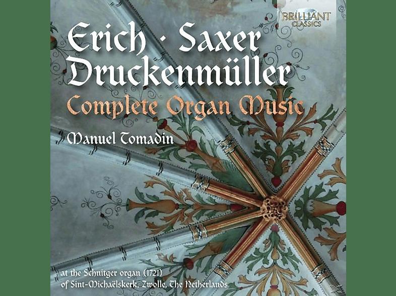 Manuel Tomadin - Complete Organ Music [CD]