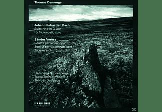 Thomas Demenga - Bach,Veress  - (CD)