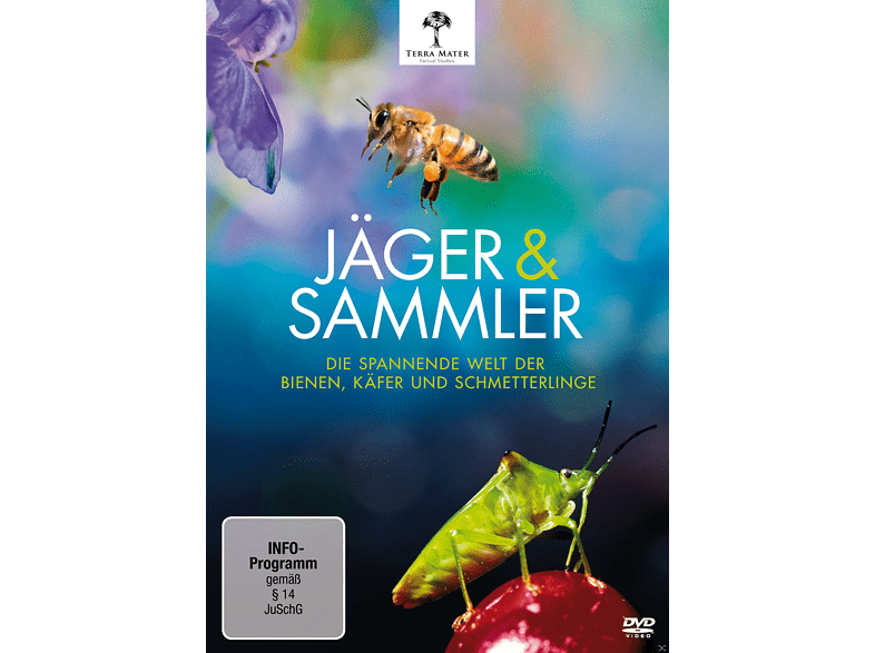 Jäger und Sammler - Die spannende Welt der Bienen, Käfer und Schmetterlinge [DVD]