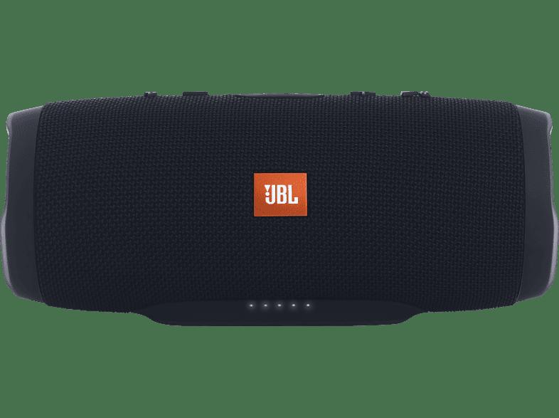 JBL Charge 3 Bluetooth Lautsprecher, Schwarz, Wasserfest