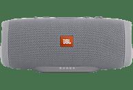 JBL Charge 3 Bluetooth Lautsprecher, Grau, Wasserfest