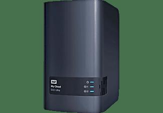 WESTERN DIGITAL NAS My Cloud EX2 Ultra 4TB, 1x Gb LAN, Schwarz (WDBVBZ0040JCH)