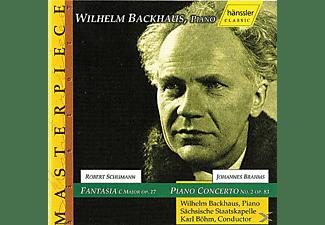 Wilhelm Backhaus, Karl Böhm, Staatskapelle Dresden - Klavierkonzert 2/Fantasie  - (CD)