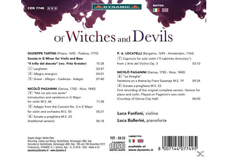 Fanfoni/Ballerini - Of Witches And Devils  - (CD)