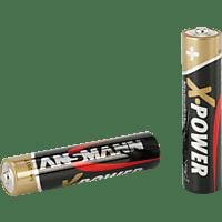 ANSMANN 5015653 AAA Micro Batterie Alkaline 4 Stück