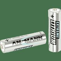 ANSMANN 1512-0002 AA Mignon Batterie Lithium 4 Stück