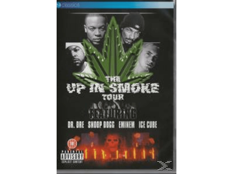 VARIOUS - The Up In Smoke (Non Dts Version) [DVD]