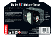 KOSMOS 631543 Die Drei ??? Digitaler Tresor, Schwarz