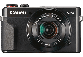 Cámara - Canon POWERSHOT G7 X MARK II, F1.8 - 2.8, CMOS, Digic 7