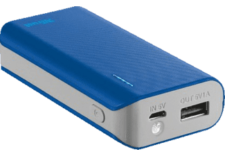 TRUST PRIMO POWERBANK 4400 PORTABLE CHARGER - BLUE - (21225)