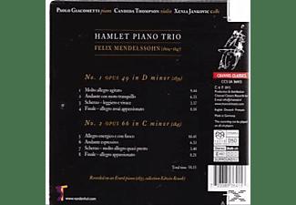 Hamlet Piano Trio - Piano Trios Opus 49 & 66  - (SACD Hybrid)