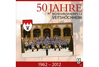 Heeresmusikkorps 12 Veitshöchheim - 50 Jahre-Bayrische Heeresmärsche [CD]