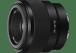 SONY Objektiv FE 50mm 1.8 (SEL-50F18F), schwarz