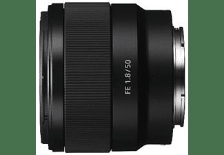 SONY SEL50F18F Vollformat - 50 mm f/1.8 Circulare Blende (Objektiv für Sony E-Mount, Schwarz)