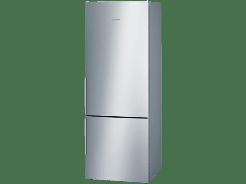 BOSCH KGE58AI40 6 Kühlgefrierkombination (A+++, 196 kWh/Jahr, 1910 mm hoch, Edelstahl)