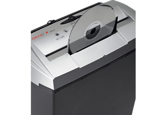 GENIE 250 CD Aktenvernichter, Schwarz/Silber