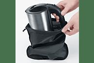 SEVERIN WK 3646 Wasserkocher, Edelstahl gebürstet/Schwarz