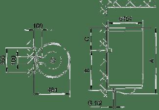 GORENJE TGR 50 N/D Warmwasserspeicher