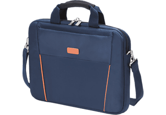 "DICOTA D30999 Slim Case Base 14-15.6"" Laptop Çantası Lacivert/Turuncu"