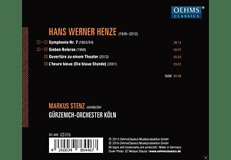 Gürzenich-orchester Köln - Sinfonie 7/L'heure Bleue/7 Boleros  - (CD)