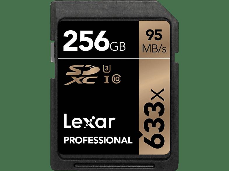 LEXAR Professional, SDHX, 256 GB, 95 Mbit/s