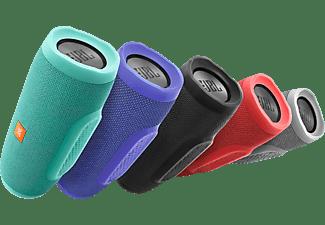 Altavoz inalámbrico - JBL Charge 3, Bluetooth, Resistente al agua, Micrófono, Negro
