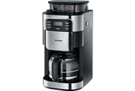 SEVERIN KA 4810 Kaffeemaschine Edelstahl gebürstet/Schwarz