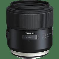 TAMRON SP 85 mm-85 mm f/1.8 Di, USD, VC, SP (Objektiv für Canon EF-Mount, Schwarz)