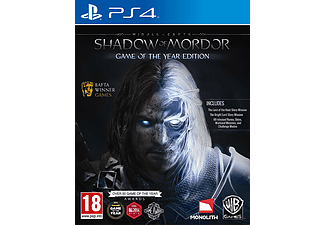 Middle Earth Shadow of Mordor Game of The Year PlayStation 4