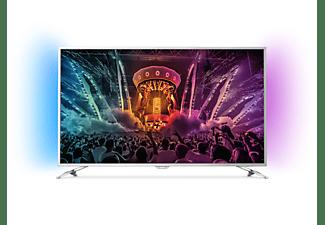 PHILIPS 55PUS6501 LED TV (Flat, 55 Zoll / 139 cm, UHD 4K, SMART TV, Ambilight, Android TV)