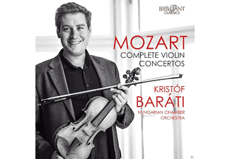 Kristof Barati & Hungarian Chamber Orchstra - Mozart: Complete Violin Concertos CD