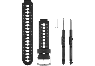 GARMIN Ersatzarmband Forerunner 230, 235, 630, Armband, Garmin, Schwarz/Grau