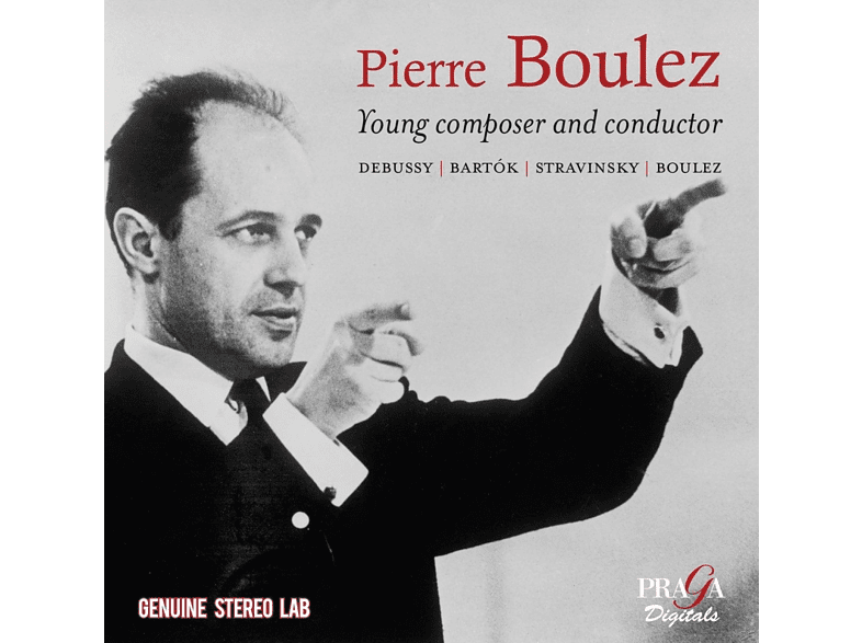 Pierre/BBC Symphony Chorus & Orch./+ Boulez - Young Composer And Conductor [CD]