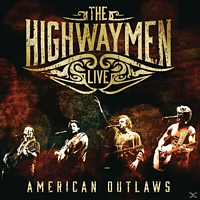 Highwaymen - Live-American Outlaws [CD]