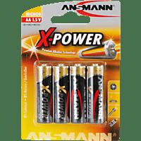 ANSMANN 5015663 XPOWER MIGNON 4ER ALKALINE AA Mignon Batterie Alkaline 4 Stück