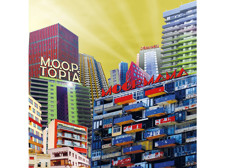 Moop Mama - M.O.O.P.Topia (Ltd.Gatefold/Dark Blue Vinyl) [Vinyl]