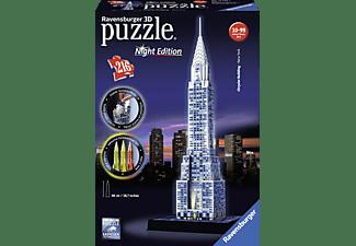 RAVENSBURGER Chrysler Building bei Nacht 3D Puzzle Mehrfarbig