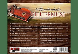 VARIOUS - Alpenländische Zithermusi  - (CD)