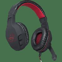 SPEEDLINK SL 860001 BK MARTIUS Stereo Gaming Headset Schwarz/Rot