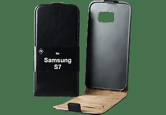 V-DESIGN DV 137, Flip Cover, Samsung, Galaxy S7, Schwarz